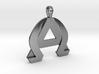 AlphaOmega Pendant 3d printed