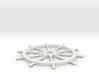 Ships Wheel 3d printed