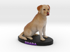 Custom Dog Figurine - Shada 3d printed
