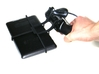 Xbox 360 controller & Asus Memo Pad 10 ME103K 3d printed In hand - A Nexus 7 and a black Xbox 360 controller