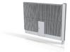 Beton Schallschutzwand mit Tür 3d printed