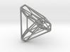 Tetrahedron .04 2cm 3d printed