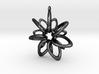 RingStar 7 points - 5cm, Loopet 3d printed