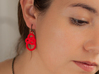 Michelin like earrings 3d printed Do you need some color? Grab a simple outfit and accessorize it reflecting who you are.