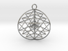 3D Sri Yantra version 3 3d printed