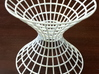 Hyperboloid showing hyperbolic and elliptic cross  3d printed