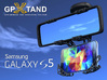 GPXtand - Universal Mobile and GPS Car Holder 3d printed GPXtand with Sansung Galaxy S5 - WITH OR WITHOUT CASE!