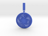 Quark Pendant - Flower Moire (1lmYyU) 3d printed