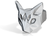 Polygonal cat ring: size 8 (US) Q (UK) 3d printed