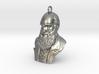 "Charles Darwin 1"" Bust, Pendant, Ear Ring, Charm,  3d printed"