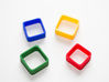 Poly4 Ring 3d printed The Poly4 Ring in multiple colors