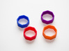 Poly8 Ring 3d printed Poly8 Ring in multiple colors