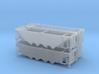 HO P-9 Ballast/Phosphate Hopper - 4 Pack 3d printed