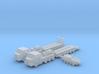 1/600 M1070 HETS Tank Transport (x2) 3d printed