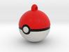 Pokeball with loop :D 3d printed