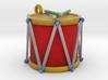 Ornament, Drum 3d printed