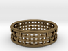 Basket Weave Ring 3d printed