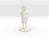 Kina With Lab Coat 3d printed