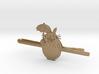 Totoro Tie Clip 3d printed