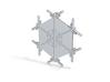 Snowflakes Series II: No. 5 3d printed