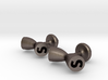Cufflinks - Initials 1 3d printed