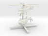 1/285 Eurocopter AS365 Dauphin (x2) 3d printed