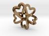 Rosette pendant 3d printed