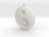 Yin Yang - 6.1 - Earring - Right 3d printed