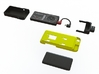 NightScout Case, Phone, Droid Maxx - TTVJ 3d printed Modular Dexcom & Phone case components. Part in yellow is for purchase on this page.