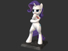 My Little Pony - Fabulous Rarity 14cm 3d printed