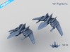 HOMEFLEET Heavy Fighter Group 3d printed