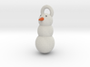 Snow Man christmas tree decoration 3d printed