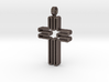Contemporary Cross Pendant 3d printed