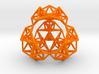 Inversion of a Sierpinski Tetrahedron 3d printed