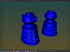 Dalek Post Version A 3d printed