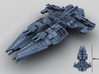 HOMEFLEET Battlecruiser 3d printed