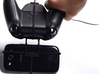 Xbox One controller & chat & Huawei Ascend Y600 3d printed In hand - A Samsung Galaxy S3 and a black Xbox One controller & chat