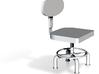 HTLA office chair 5% 3d printed