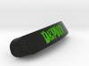 DepuTy Nameplate for SteelSeries Rival 3d printed