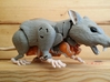 Rattrap's Really Ratlike Teeth 3d printed Side view (Original Toy Not Included)