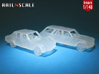SET 2x Peugeot 504 (British N 1:148) 3d printed