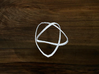 Turk's Head Knot Ring 2 Part X 3 Bight - Size 14.7 3d printed