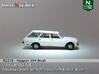 Peugeot 504 Break (N 1:160) 3d printed