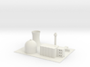 1/600 Yong-Byon Nuclear Reactor 3d printed