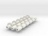 Split-frame Gears For Mainline OO locos. Block of  3d printed