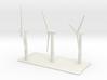 1/600 Wind Farm x3 Turbines 3d printed