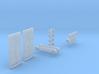 Pièces détachées caisse remorque autorail 3d printed