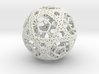 Cell Sphere 2 - Bauble 3d printed