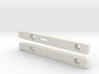 "3,5"" Floppy Rails compatible to Amiga 3000 T 3d printed"