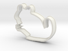 Chinchilla Cookie Cutter Improved 3d printed